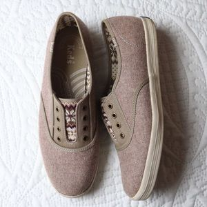 Keds Champion Sneakers Fair Isle Laceless Shoes